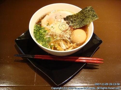 麺 たいせい@亀有 醤油半熟味付玉子らー麺