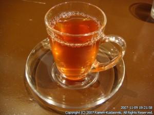 麺 たいせい@亀有 醤油半熟味付玉子らー麺 食後茶